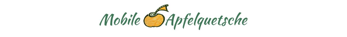 Mobile Apfelquetsche